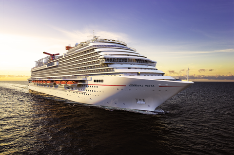Photo courtesy of the Carnival Corporation
