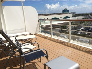 Extended Balcony for Cabin 5650