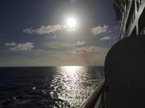 The Caribbean Sea at Dusk